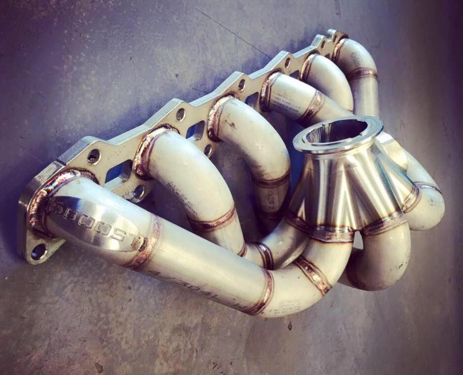 6Boost RB26 Exhaust Manifold