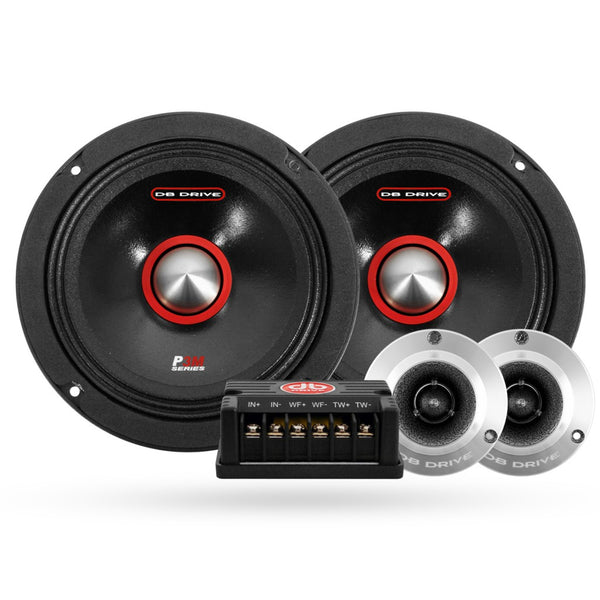 "DB Drive ES96 - 6.5"" Coaxial Speakers 2Way"