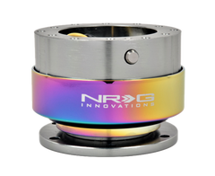 NRG Quick Release Gen 2.0 (Gun Metal Body w/ Neochrome Ring)