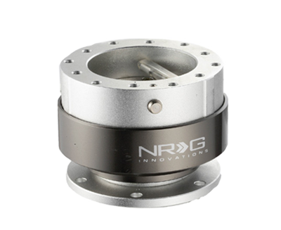 NRG Quick Release Gen 2.0 (Silver Body w/ Titanium Chrome Ring) SRK-200SL