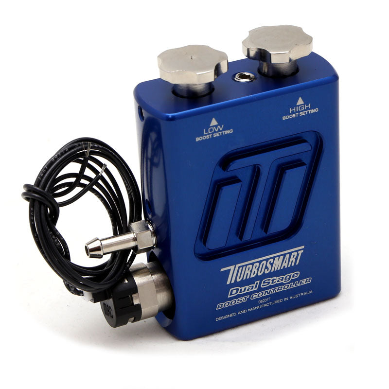 TurboSmart Dual Stage Boost Controller V2 - Blue  TS-0105-1101