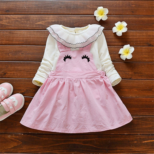 64db62fbbd85 BibiCola Baby Girl Clothing Set Newborn Baby Clothes Suit Toddler ...