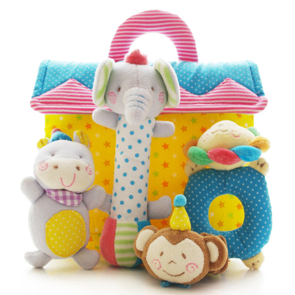 Toys For Infants >> Shiloh Soft Plush Stuffed Toy Infants Baby Hand Toy Rattles