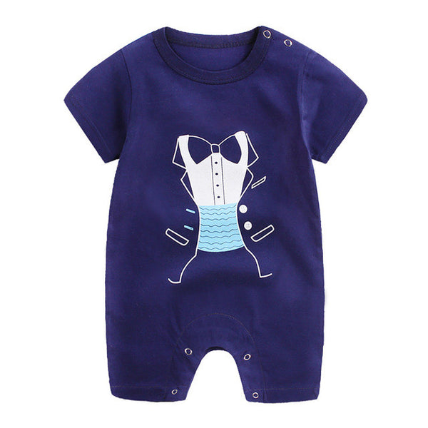 79378846f05 Baby rompers Newborn Infant Baby Boy Girl Cartoon Romper Cute Jumpsuit  Climbing baby Clothes drop shipping ...
