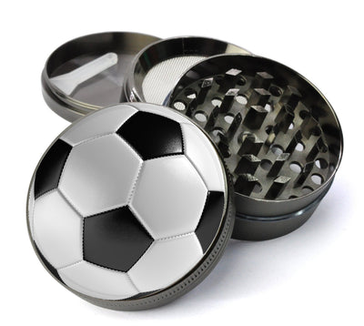 Soccer Ball Extra Large 5 Piece Spice & Herb Grinder With Microfine Screen