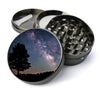 Milky Way Galaxy Deluxe Metal 5 Piece Herb Grinder With Microfine Screen