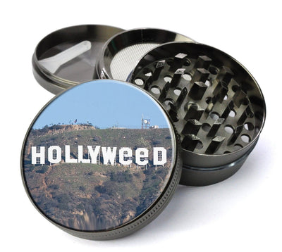 Holly - Hollywood Sign Vandalized Extra Large 5 Piece Spice  Herb Grinder with / Catcher - Expression Tees