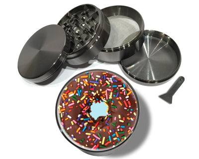 Chocolate Donut with Sprinkles Spice Grinder