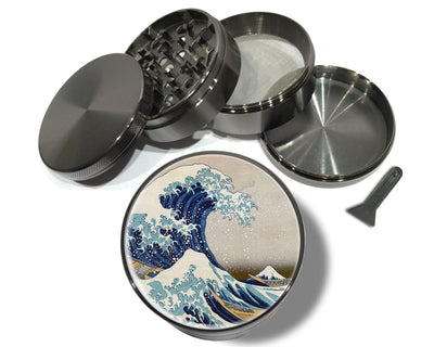 Great Wave Of Kanagawa Spice Grinder