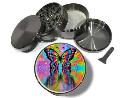 Psychedelic Hippie Butterfly Spice Grinder