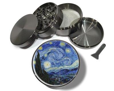 Starry Night by Van Gogh Spice Grinder