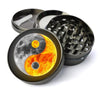 Yin Yang Sun And Moon Extra Large 5 Piece Spice  Herb Grinder with / Catcher - Expression Tees