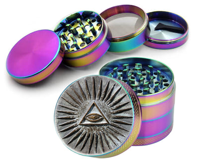 Stone All Seeing Eye Spice Grinder