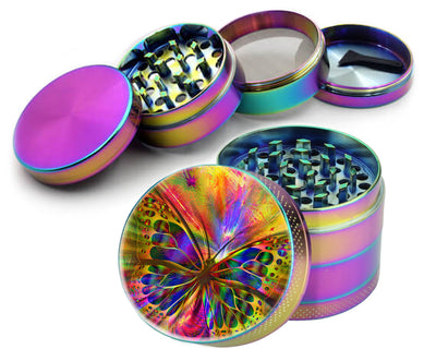 Multi-Color Butterfly Spice Grinder