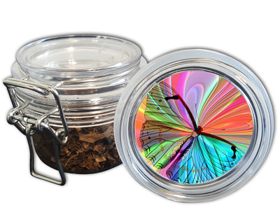 Trippy Hippy Butterfly Spice Grinder