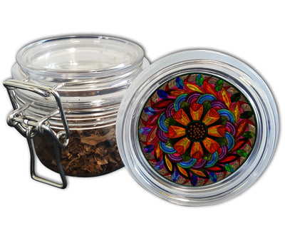 Stained Glass Mandala Spice Grinder