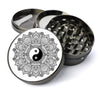 Yin Yang Mandala Extra Large 5 Piece Spice  Herb Grinder with / Catcher - Expression Tees