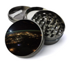 Earth From Space Extra Large 4 Chamber Spice & Herb Grinder With Microfine Screen