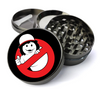Stranger Ghost Pop Culture TV - Metal 5 Piece Herb Grinder With Fine Screen - Create Your Own Grinder!