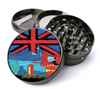 London Skyline Metal 5 Piece Herb Grinder With Fine Screen - Create Your Own Grinder!