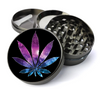Weed Galaxy Metal 5 Piece Herb Grinder With Fine Screen - Create Your Own Grinder!