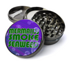 Mermaids Smoke Seaweed Metal 5 Piece Herb Grinder With Fine Screen - Create Your Own Grinder!