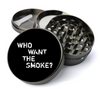 Who Want The Smoke Deluxe Metal 5 Piece Herb Grinder With Fine Screen - Create Your Own Grinder!