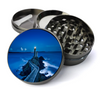 Lighthouse at Night Grinder Deluxe Metal 5 Piece Herb Grinder With Fine Screen