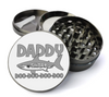 Daddy Shark Challenge Large 5 Piece Spice & Herb Grinder With Microfine Mesh Screen