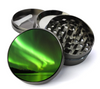Green Northern Lights Large 5 Piece Spice & Herb Grinder With Microfine Mesh Screen