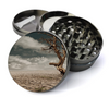 Desert Scenery Deluxe Metal 5 Piece Herb Grinder With Fine Screen