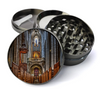 Cathedral Deluxe Metal 5 Piece Herb Grinder With Fine Screen