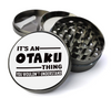 It's an Otaku Thing Deluxe Metal 5 Piece Herb Grinder With Fine Screen - Create Your Own Grinder!