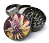Cannabis Plant Image #1 Grinder Extra Large 5 Piece Spice  Herb Grinder with / Catcher - The Best Metal Herb Grinder For Sale