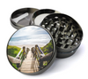 Beach Walkway Deluxe Metal 4 Piece Herb Grinder With Fine Screen