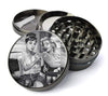 Audrey Hepburn & Marilyn Monroe Tattoo American Classics Large 5 Piece Spice & Herb Grinder With Microfine Mesh Screen