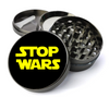 Stop Wars Deluxe Metal 5 Piece Herb Grinder With Fine Screen