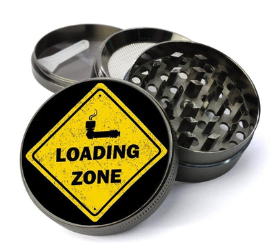 Bowl Loading Zone #8 Extra Large 5 Piece Spice  Herb Grinder with / Catcher - Cheap Metal  Grinder for  - Expression Tees