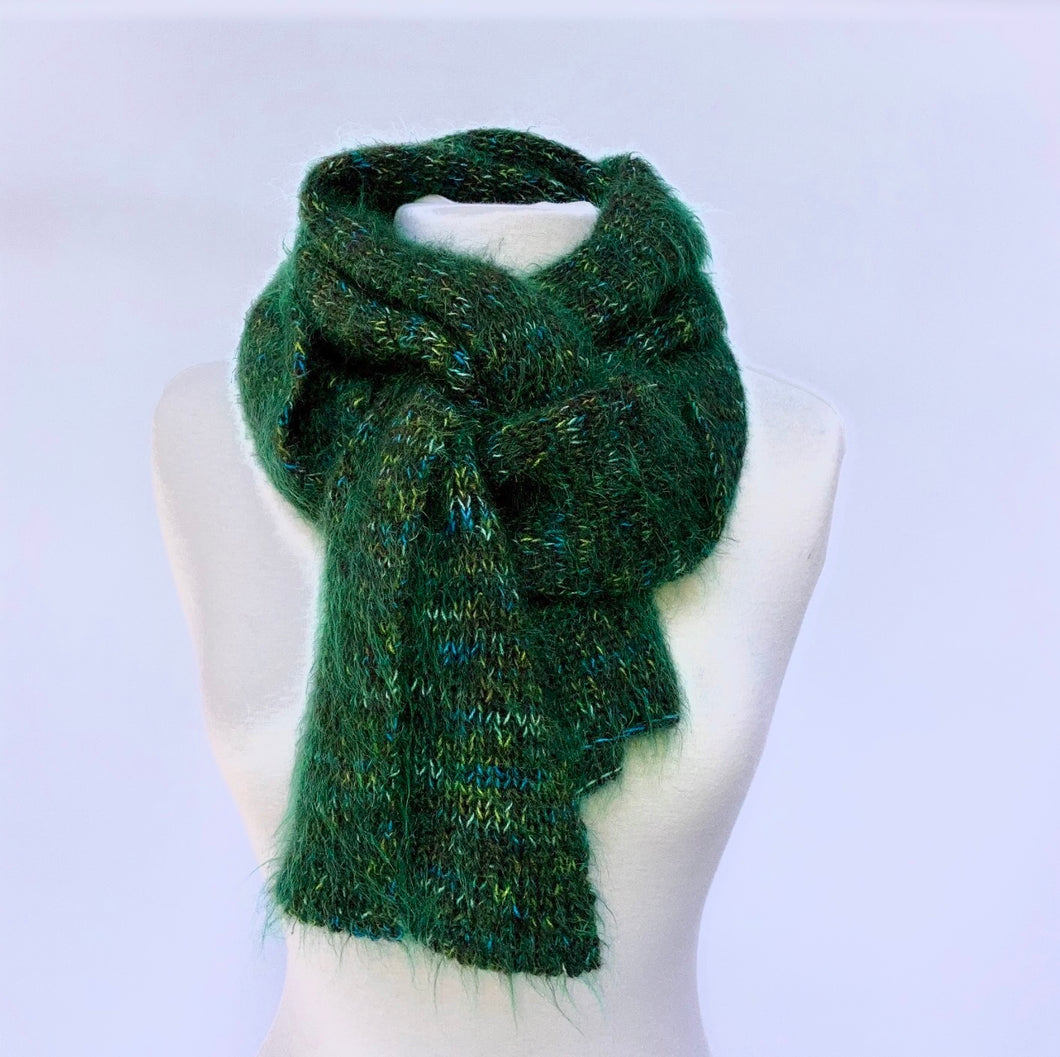 Moss Green Algae Scarf