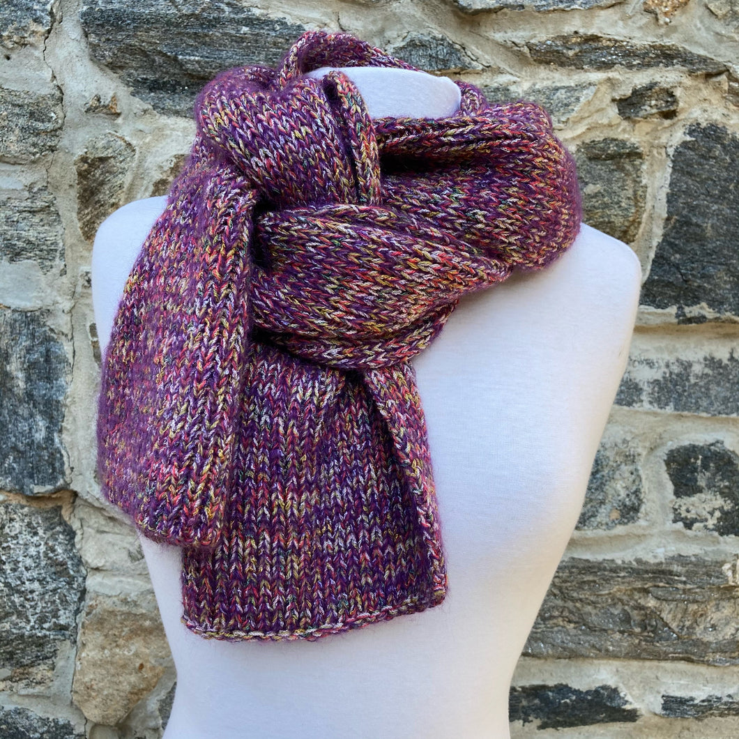 Grape Soda Scarf