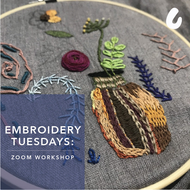 Embroidery Tuesdays