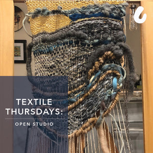 Textile Thursdays Open Studio on Zoom