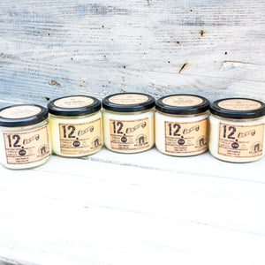12.ZERO Soy Jar Candle- Rustic and Masculine Collection