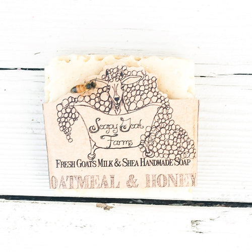 Artisan Goat's Milk Soap- Oatmeal & Honey