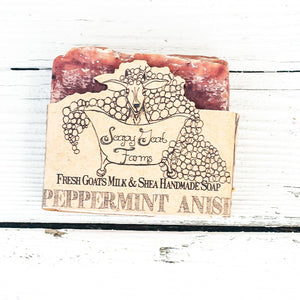 Artisan Goat's Milk Soap- Peppermint Anise