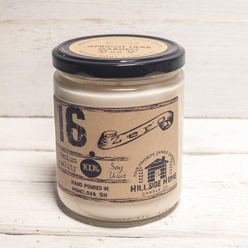 16.ZERO Soy Jar Candle- Natural Collection