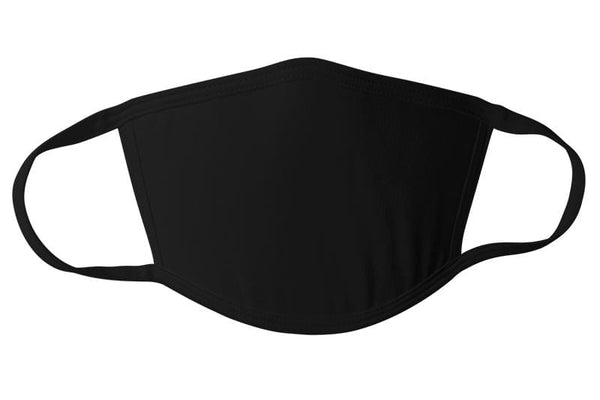 Commandeer Brand Accessories Black Face Mask