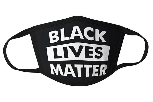 Commandeer Brand Accessories Black Lives Matter Face Mask