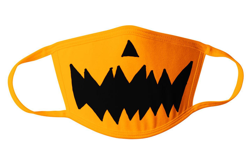 Commandeer Brand Accessories Jack O Lantern Mask