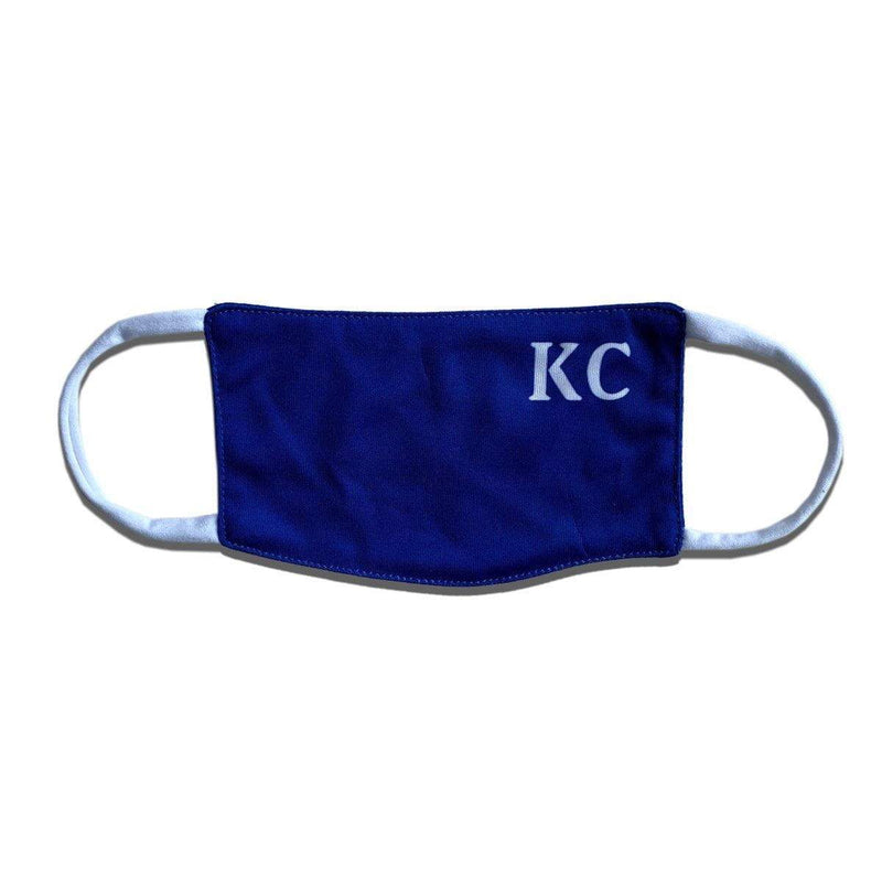 Kids KC Baseball Face Mask